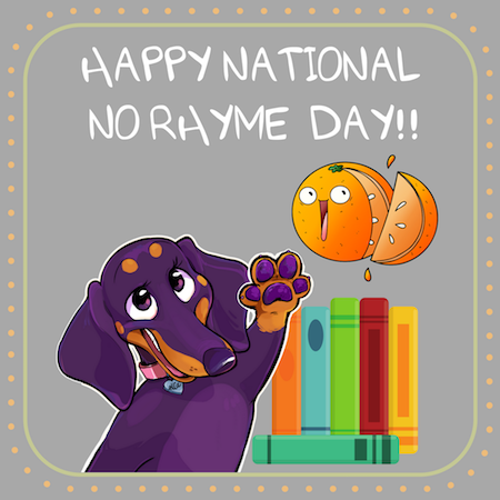 It's National No Rhyme (Nor Reason) Day! Here's How to Observe: